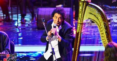 محمد منير يتألق فى أولى ليالى مهرجان الموسيقى العربية بدار الأوبرا