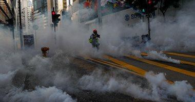 هونج كونج تعلق الدراسة فى جميع المدارس حتى يوم الأحد بسبب الاحتجاجات