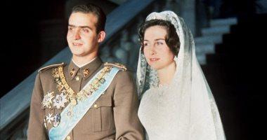 """شاهد.. صور الزفاف الأعرق بتاريخ أوروبا فى عيد ميلاد ملكة أسبانيا """"صوفيا"""""""