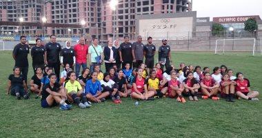 منتخب الكرة النسائية يستعد لتصفيات أفريقيا بمعسكر مغلق