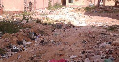 قارئ يشكو انتشار القمامة بمنطقة بياض العرب ببنى سويف