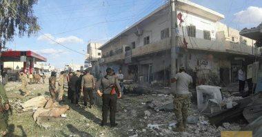 قوات سوريا الديمقراطية تٌحمل الجيش التركى المسئولية عن تفجير مدينة تل أبيض