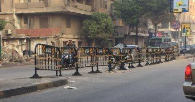 شكوى من غلق طريق أرض اللواء المؤدى إلى شارع سوريا بالمهندسين