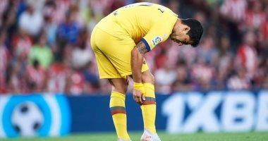 برشلونة يعلن خضوع سواريز لعملية جراحية فى الركبة غدا