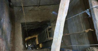 صور.. تعرف على تقرير الآثار حول مصرع 3 عمال أثناء التنقيب بمنزل بالفيوم