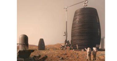 شاهد.. كيف ستبنى الروبوتات مستوطنات المريخ