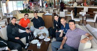 بعثة الاسكواش ترانزيت فى الأردن استعداداً للمشاركة فى بطولة العالم للرجال