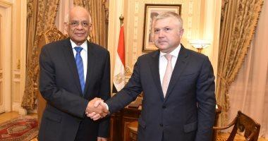 رئيس مجلس النواب يستقبل السفير الأرمينى لبحث تعزيز التعاون بين البلدين