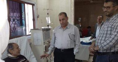مدير التأمين الصحى بالشرقية يتابع انتظام جلسات الغسيل الكلوى بالعاشر من رمضان