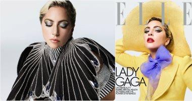 ليدى جاجا على غلاف مجلة Elle.. تتحدث عن قوة الجمال فى مواجهة الاكتئاب