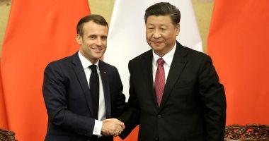 الرئيس الفرنسى ونظيره الصينى يشهدان توقيع اتفاقات فى مجال التجارة والطيران