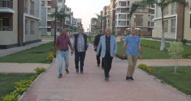 مساعد نائب وزير الإسكان يتفقد مشروعات مدينة السادات