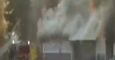 أمن الإسكندرية يكشف غموض واقعة إشعال النيران بمعرض سيارات