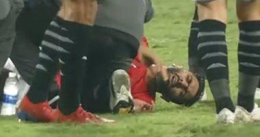 الأهلى يطمئن علي حسين الشحات بعد إصابته مع المنتخب