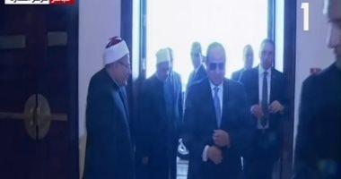 بث مباشر .. الرئيس السيسي يحضر احتفالية وزارة الأوقاف بالمولد النبوى