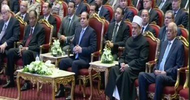 السيسى موجها بعقد مؤتمر للنقاش حول الشأن العام: أهل الدين الأولى بالحديث
