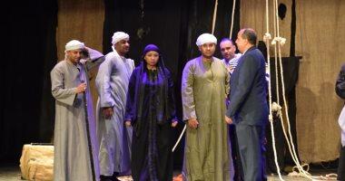 """كينيا ترقص على أنغام """" أناكوندا """" فى مهرجانها المسرحى"""