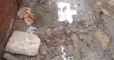 شكوى من سوء حالة الصرف الصحى بقرية قورص أشمون فى المنوفية