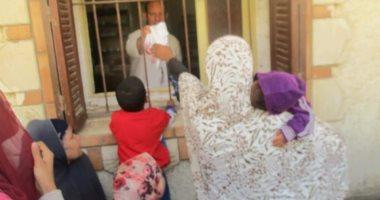 صور.. 11عيادة متنقلة فى قافلة طبية بمركز الواسطى ببنى سويف