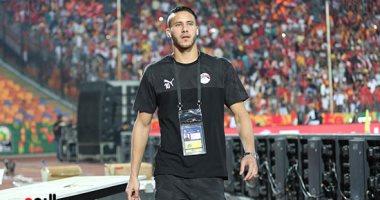 رمضان صبحي : أداء المنتخب الأولمبي سيرتفع مع المباريات المقبلة
