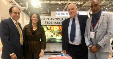الدكتورة رانيا المشاط تشييد بمشاركة غرفة المنشآت السياحية ببورصة لندن
