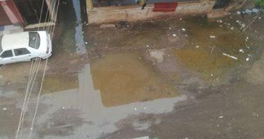 قارئ يشكو من انتشار مياه الصرف الصحى بأشمون فى المنوفية