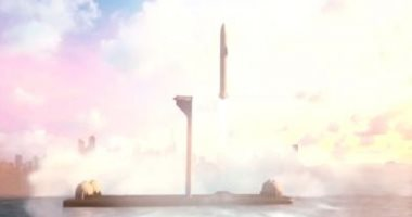 إيلون ماسك يكشف عن خطة بناء ميناء فضائى عائم لإطلاق صواريخ القمر والمريخ