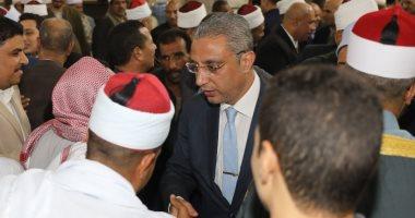 صور.. محافظ سوهاج يشهد إحتفالية الأوقاف بذكرى المولد النبوي الشريف