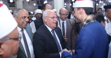 صور.. محافظ بورسعيد يشهد احتفالية الأوقاف بالمولد النبوي الشريف