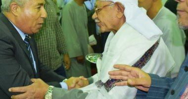 صور.. محافظ أسوان يشهد الاحتفال بالمولد النبوى