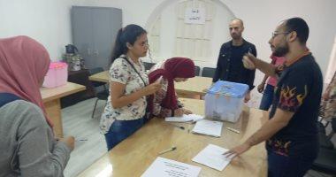 صور.. 15 كلية تخوض جولة الإعادة فى انتخابات الاتحادات الطلابية بجامعة حلوان