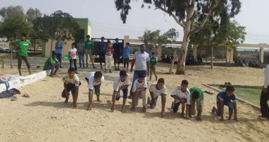صور.. أنشطة ألعاب قوى وندوات ثقافية بمراكز شباب شمال سيناء