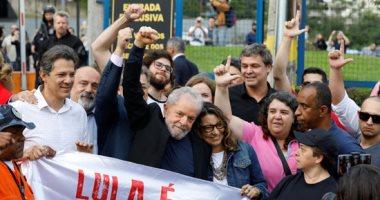 إطلاق سراح الرئيس البرازيلى السابق لولا دا سيلفا.. صور