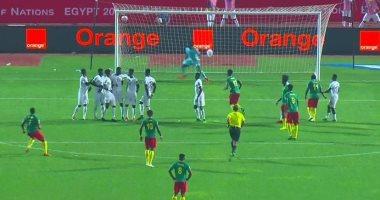 مجموعة مصر.. الكاميرون تتقدم بهدف رائع على غانا فى الدقيقة 60