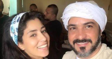 """أيتن عامر تقابل محمد رجب لثالث مرة فى """" الأخ الكبير """""""