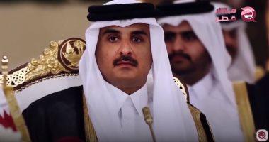 الدوحة تواصل خيانتها.. أمير قطر يزور طهران اليوم ويلتقى روحانى