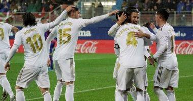 """إيبار ضد ريال مدريد.. الريال يتقدم بثلاثية في شوط من طرف واحد """"فيديو"""""""