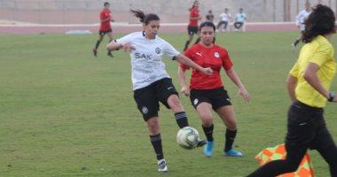 منتخب الكرة النسائية يختتم معسكره الداخلى استعداداً لتصفيات أمم أفريقيا