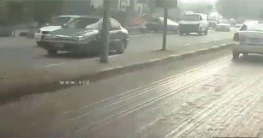 فيديو.. انتظام حركة السير بطريق كورنيش التحرير وغياب التكدسات المرورية