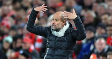 """ليفربول ضد مان سيتى.. جوراديولا ينفعل بجنون بعد ثلاثية الريدز """"صور"""""""