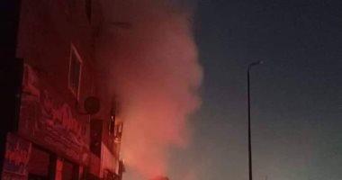 السيطرة على حريق نشب داخل أحد محلات الغربية