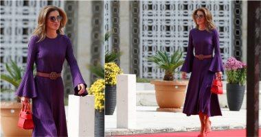 الملكة رانيا تظهر بفستان ارتدته قبل عامين.. كيف جددت شكله؟