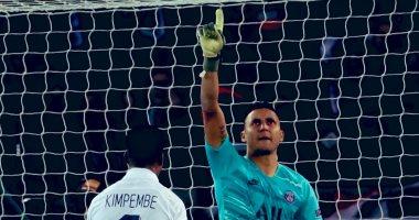 الإصابة تهدد مشاركة نافاس في مباراة باريس سان جيرمان وريال مدريد