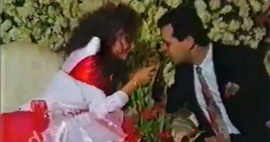 """فيديو نادر من زفاف روجينا وأشرف زكى يكشف سر خناقة """"المفاتيح"""" فى ليلة العمر"""