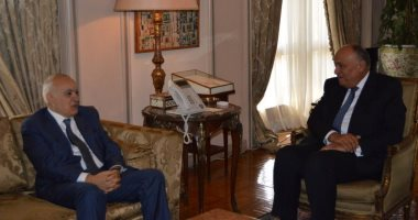 وزير الخارجية يبحث مع غسان سلامة آخر مستجدات الوضع فى ليبيا