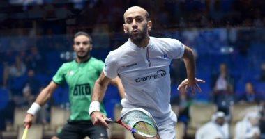 مروان الشوربجى يتأهل لربع نهائى بطولة العالم للاسكواش