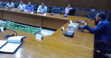 سكرتير محافظة شمال سيناء يستعرض موقف المشروعات الخدمية