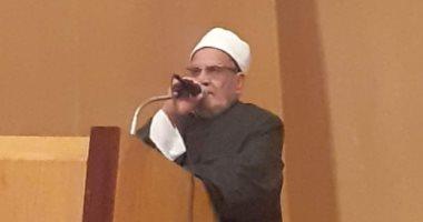 جامعة حلوان تنظم ندوة للشيخ أحمد كريمة فى احتفالية المولد النبوى الشريف
