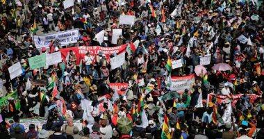 مقتل وإصابة 23 شخصا فى مصادمات بين الشرطة وأنصار موراليس فى بوليفيا