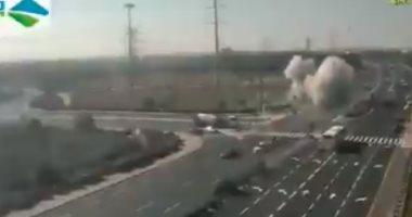 سكاى نيوز: سقوط صاروخ على بلدة سديروت فى إسرائيل قرب قطاع غزة